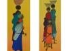 Afrikanske kvinder i marken