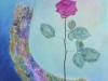Rose på regnbue