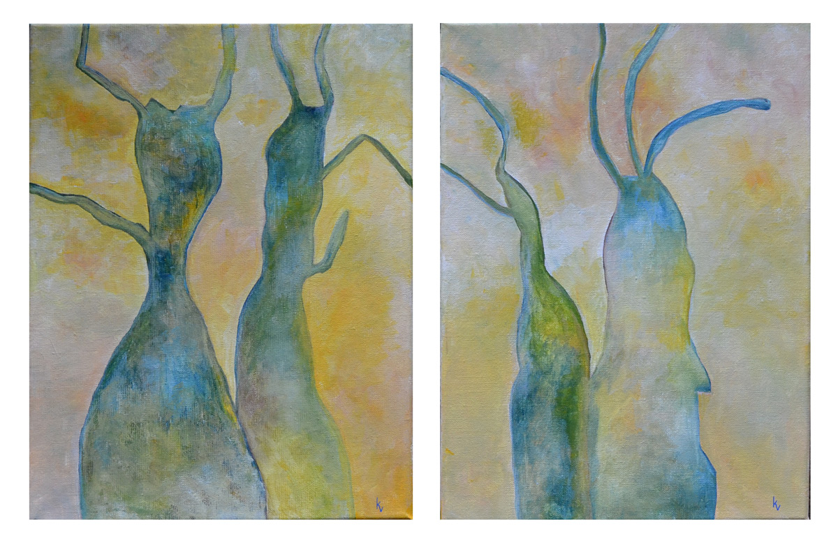 Gamle oliventræer